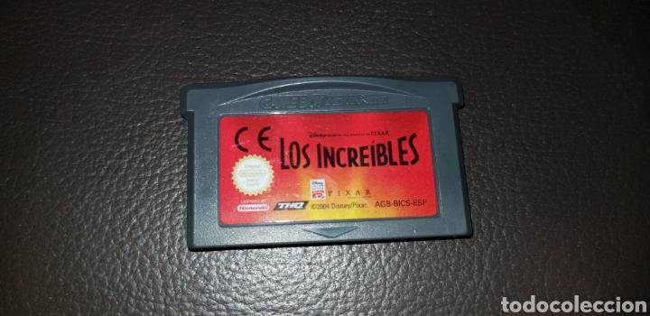 JUEGO LOS INCREIBLES NINTENDO GAMEBOY ADVANCE RETROVINTAGEJUGUETES BBB GAME BOY (Juguetes - Videojuegos y Consolas - Nintendo - GameBoy Advance)