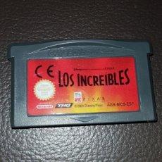Videojuegos y Consolas: JUEGO LOS INCREIBLES NINTENDO GAMEBOY ADVANCE RETROVINTAGEJUGUETES BBB GAME BOY. Lote 155509158