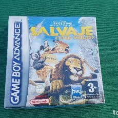Videojuegos y Consolas: PRECINTADO SALVAJE | THE WILD | GAME BOY ADVANCE | GBA | WALT DISNEY | VIDEO JUEGO | NINTENDO |. Lote 155566882