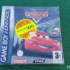 Videojuegos y Consolas: PRECINTADO CARS | GAME BOY ADVANCE | GBA | DISNEY PIXAR | VIDEO JUEGO | NINTENDO | CONSOLA. Lote 155567038