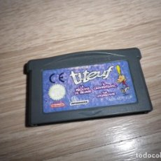 Videojuegos y Consolas: NINTENDO GAMEBOY ADVANCE JUEGO TITEUF. Lote 156616142