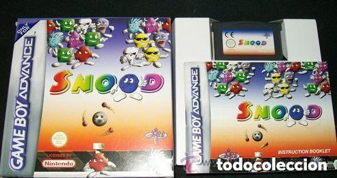 JUEGO GAMEBOY ADVANCED SNOOD (Juguetes - Videojuegos y Consolas - Nintendo - GameBoy Advance)