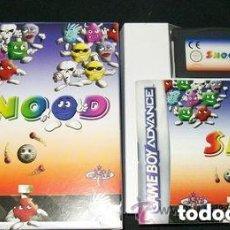 Videojuegos y Consolas: JUEGO GAMEBOY ADVANCED SNOOD. Lote 158487190