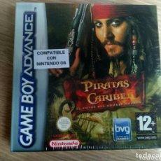 Videojuegos y Consolas: NINTENDO GAMEBOY ADVANCE JUEGO PIRATAS DEL CARIBE NUEVO. Lote 158828398