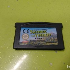 Videojuegos y Consolas: JUEGO GAME BOY ADVANCE SHREK THE THIRD. Lote 158941674