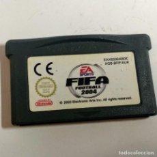 Videojuegos y Consolas: FIFA 2004 GAME BOY ADVANCE. Lote 159807634