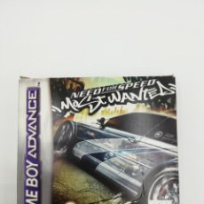 Jeux Vidéo et Consoles: NEED FOR SPEED MOST WANTED GBA. Lote 160143226