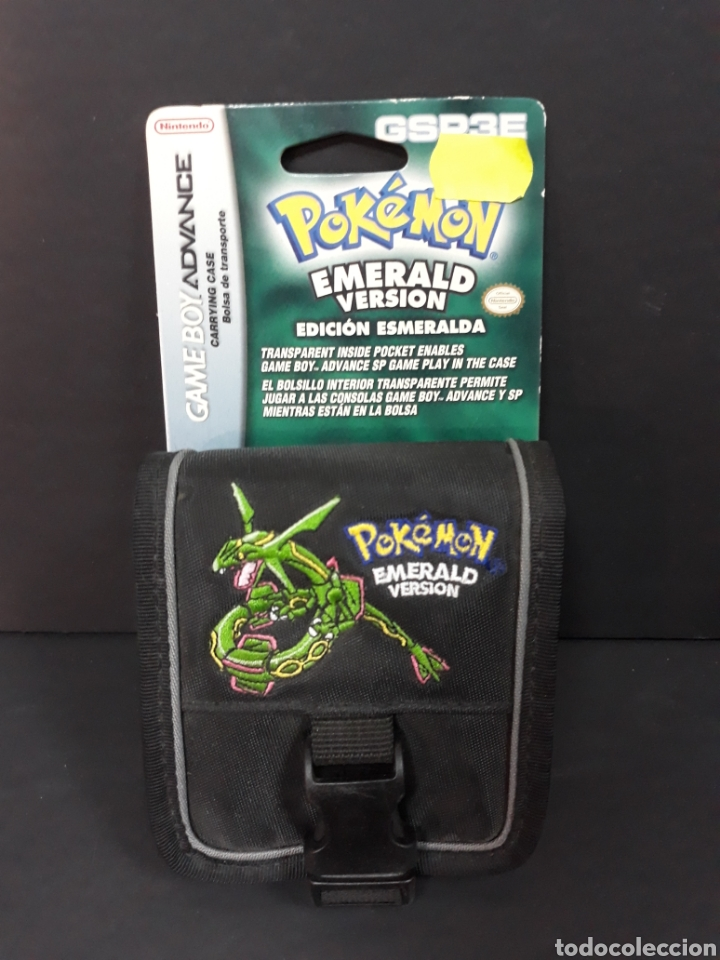 FUNDA POKEMON GAME BOY ADVANCE (Juguetes - Videojuegos y Consolas - Nintendo - GameBoy Advance)