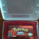 Videojuegos y Consolas: VIDEOJUEGO POKÉMON RUBI - RUBY VERSION - USA. GAMEBOY ADVANCE / ADVANCE SP / NINTENDO DS /GAME BOY. Lote 161223460
