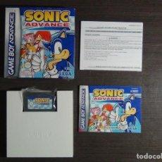 Videojuegos y Consolas: JUEGO SONIC ADVANCE PARA GAMEBOY ADVANCE GAME BOY. Lote 161860270