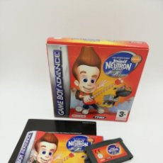 Videojuegos y Consolas: JIMMY NEUTRON JET FUSION GAME BOY ADVANCE COMPLETO. Lote 162467110