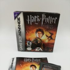 Jeux Vidéo et Consoles: HARRY POTTER AND THE GOBLET OF FIRE GAME BOY ADVANCE COMPLETO. Lote 162467282