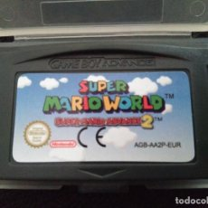 Videojuegos y Consolas: JUEGO SUPER MARIO WORLD 2 SUPER MARIO ADVANCE 2 GAMEBOY ADVANCE / ADVANCE SP / NINTENDO DS /GAME BOY. Lote 162582114