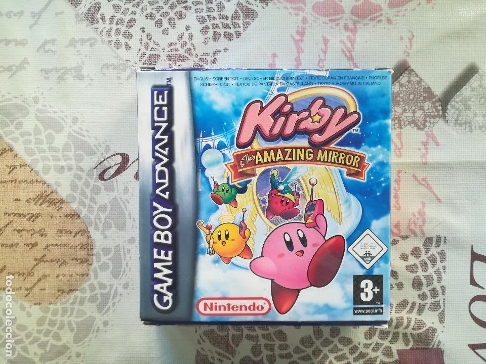kirby gameboy advance games