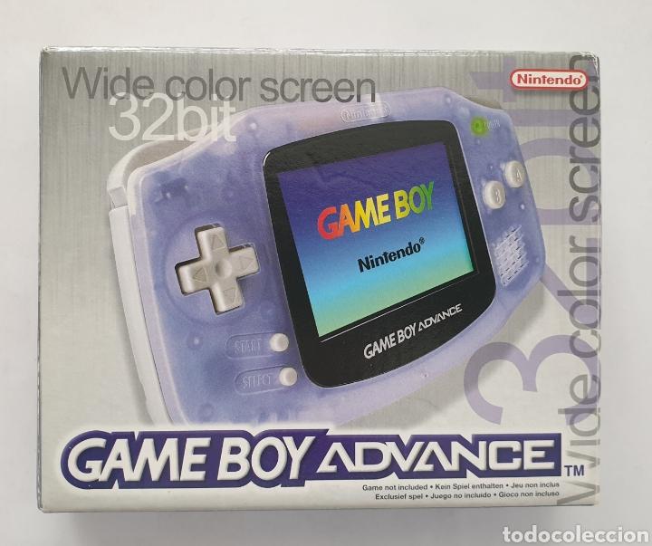 CONSOLA GAME BOY ADVANCE (GBA). NINTENDO. 32 BIT. (Juguetes - Videojuegos y Consolas - Nintendo - GameBoy Advance)