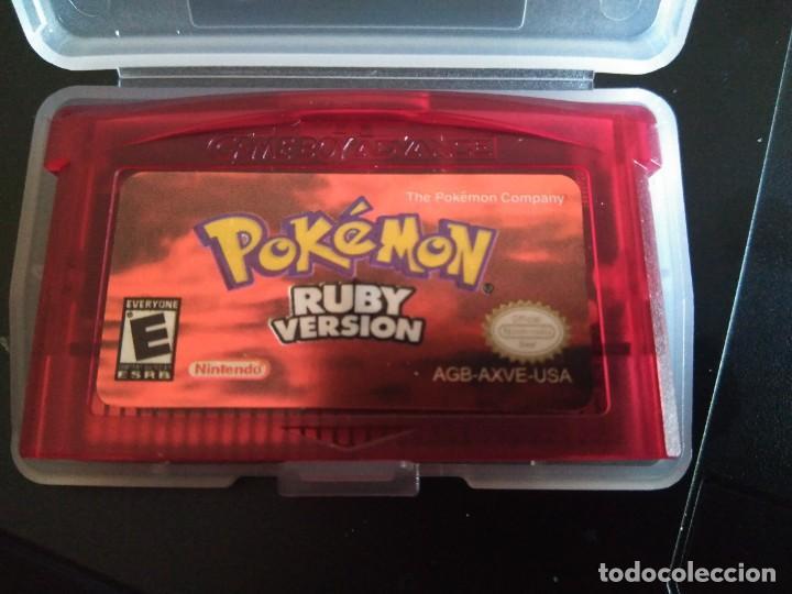 VIDEOJUEGO POKÉMON RUBI - RUBY VERSION - USA. GAMEBOY ADVANCE / ADVANCE SP / NINTENDO DS /GAME BOY (Juguetes - Videojuegos y Consolas - Nintendo - GameBoy Advance)