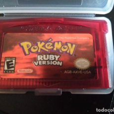 Videojuegos y Consolas: VIDEOJUEGO POKÉMON RUBI - RUBY VERSION - USA. GAMEBOY ADVANCE / ADVANCE SP / NINTENDO DS /GAME BOY. Lote 164060546