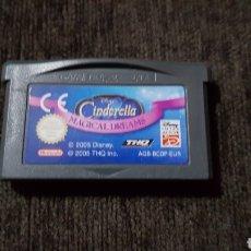 Videojuegos y Consolas: GAME BOY ADVANCE CINDERELLA MAGICAL DREAMS JUEGO NINTENDO. Lote 165102486