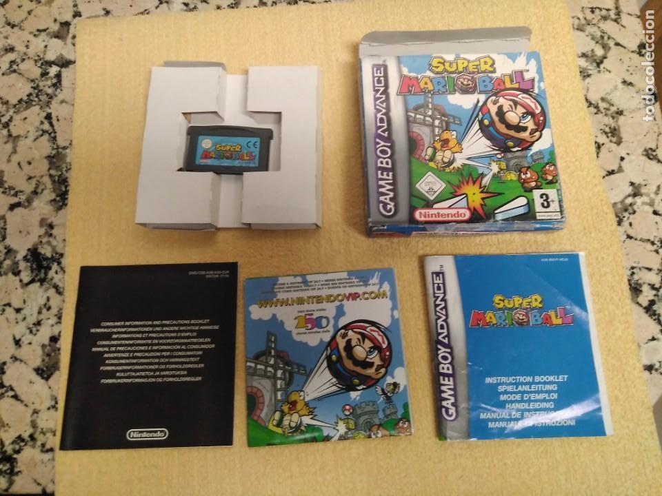 JUEGO GAMEBOY AVANCE SUPER MARIOBALL (Juguetes - Videojuegos y Consolas - Nintendo - GameBoy Advance)