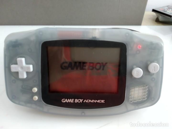 ANTIGUSA CONSOLA NINTENDO GAME BOY ADVANCE CON FUNDA Y FUNCIONANDO (Juguetes - Videojuegos y Consolas - Nintendo - GameBoy Advance)