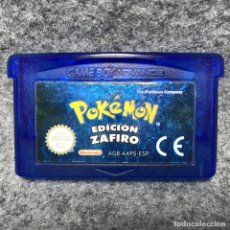 Videojuegos y Consolas: POKEMON ZAFIRO NINTENDO GAME BOY ADVANCE. Lote 166472061