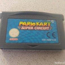 Videojuegos y Consolas: SUPER MARIO KART SUPER CIRCUIT GBA GAMEBOY ADBANCE NINTENDO . Lote 166592406