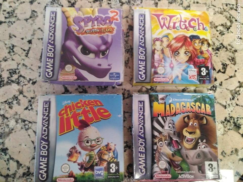 LOTE JUEGOS GAMEBOY AVANCE (Juguetes - Videojuegos y Consolas - Nintendo - GameBoy Advance)