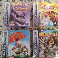 Videojuegos y Consolas: LOTE JUEGOS GAMEBOY AVANCE. Lote 166844266