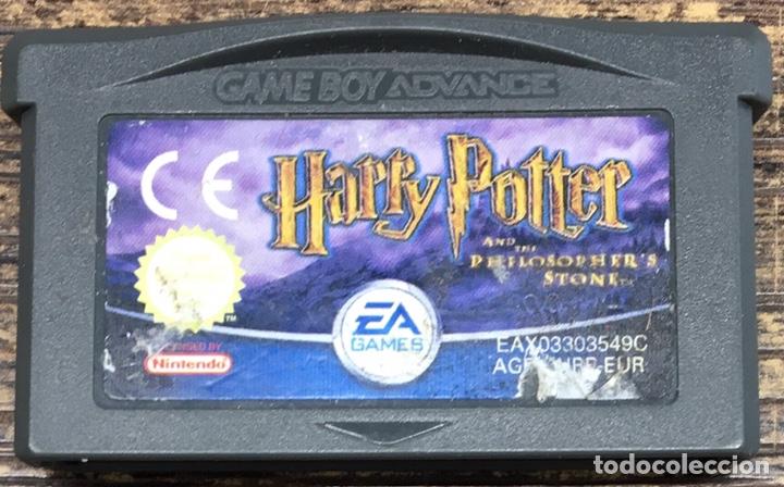 JUEGO NINTENDO ADVANCE HARRY POTTER Y LA PIEDRA FILOSOFAL (Juguetes - Videojuegos y Consolas - Nintendo - GameBoy Advance)