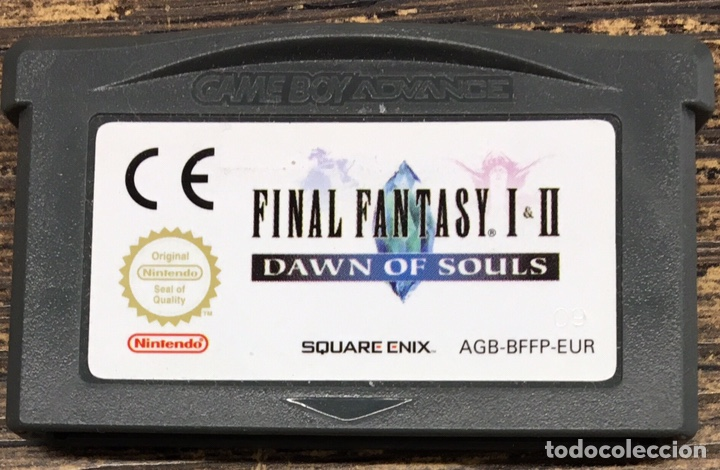 JUEGO NINTENDO ADVANCE FINAL FANTASY I & II DAWN OF SOULS (Juguetes - Videojuegos y Consolas - Nintendo - GameBoy Advance)