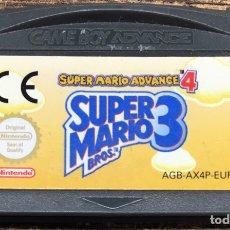Videojuegos y Consolas: JUEGO NINTENDO ADVANCE SUPER MARIO 3. Lote 167037013