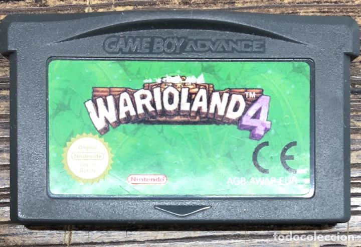JUEGO NINTENDO ADVANCE WARIOLAND 4 (Juguetes - Videojuegos y Consolas - Nintendo - GameBoy Advance)