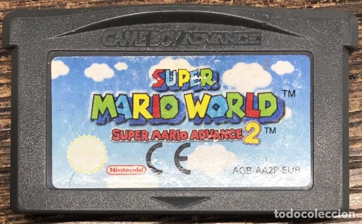 JUEGO NINTENDO ADVANCE SÚPER MARIO WORLD (Juguetes - Videojuegos y Consolas - Nintendo - GameBoy Advance)