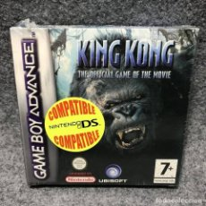 Videojuegos y Consolas: KING KONG THE OFFICIAL GAME OF THE MOVIE NUEVO NINTENDO GAME BOY ADVANCE GBA. Lote 167081158