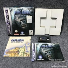 Videojuegos y Consolas: KING KONG THE OFFICIAL GAME OF THE MOVIE NINTENDO GAME BOY ADVANCE GBA. Lote 167081162