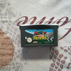 Videojuegos y Consolas: MARIO POWER TENNIS GAME BOY ADVANCE. Lote 167092680