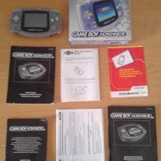 Videojuegos y Consolas: NINTENDO GAME BOY ADVANCE TRANSPARENTE AGB-001 COMPLETA EN CAJA CIB BOXED PAL!!! R9174. Lote 168570624