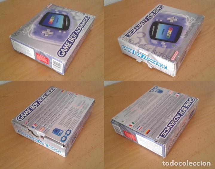 Videojuegos y Consolas: NINTENDO GAME BOY ADVANCE TRANSPARENTE AGB-001 COMPLETA EN CAJA CIB BOXED PAL!!! R9174 - Foto 3 - 168570624