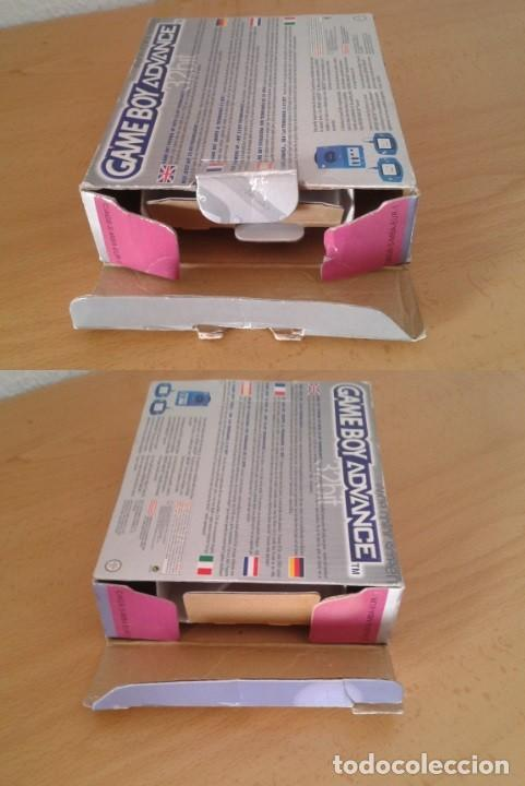 Videojuegos y Consolas: NINTENDO GAME BOY ADVANCE TRANSPARENTE AGB-001 COMPLETA EN CAJA CIB BOXED PAL!!! R9174 - Foto 4 - 168570624