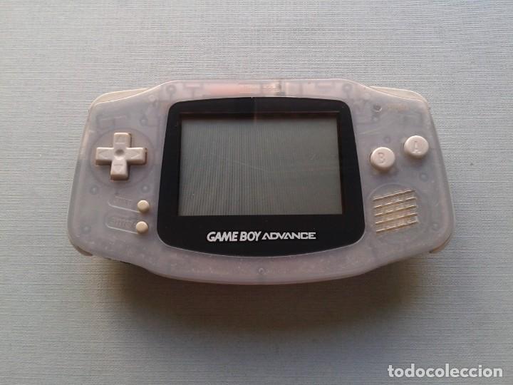 Videojuegos y Consolas: NINTENDO GAME BOY ADVANCE TRANSPARENTE AGB-001 COMPLETA EN CAJA CIB BOXED PAL!!! R9174 - Foto 5 - 168570624
