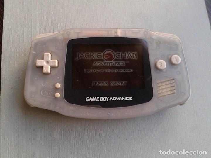 Videojuegos y Consolas: NINTENDO GAME BOY ADVANCE TRANSPARENTE AGB-001 COMPLETA EN CAJA CIB BOXED PAL!!! R9174 - Foto 8 - 168570624