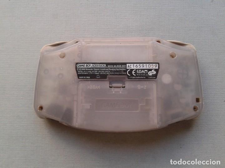 Videojuegos y Consolas: NINTENDO GAME BOY ADVANCE TRANSPARENTE AGB-001 COMPLETA EN CAJA CIB BOXED PAL!!! R9174 - Foto 10 - 168570624