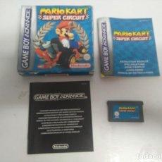 Videojuegos y Consolas: MARIO KART SUPER CIRCUIT PARA NINTENDO GAME BOY ADVANCE!!. Lote 169217460