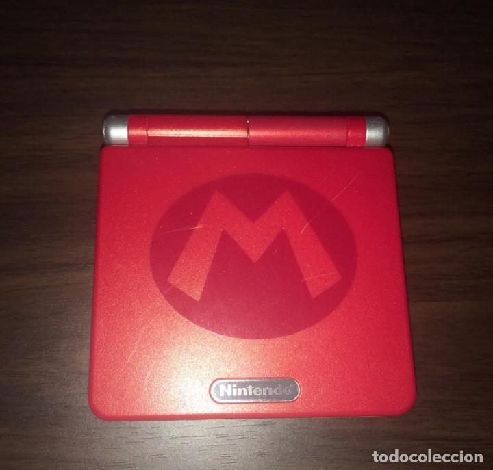GAMEBOY ADVANCE SP - MARIO BROSS - CON CARGADOR FUNCIONANDO PERFECTAMENTE - GAME BOY -VS DONKEY KONG (Juguetes - Videojuegos y Consolas - Nintendo - GameBoy Advance)