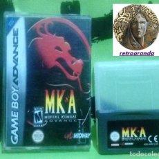 Videojuegos y Consolas: JUEGO GAME BOY ADVANCE *MORTAL KOMBAT ADVANCE MKA * ... EN BUEN ESTADO (TESTADO/FUNCIONA). Lote 169240868