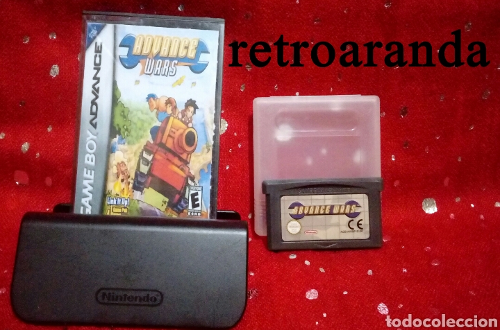 JUEGO GAME BOY ADVANCE *ADVANCE WARS* - PAL EU. (Juguetes - Videojuegos y Consolas - Nintendo - GameBoy Advance)