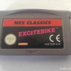 Jeux Vidéo et Consoles: EXCITEBIKE NES NINTENDO GAMEBOY ADVANCE GBA . Lote 169805644