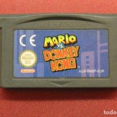 Videojuegos y Consolas: MARIO VS DONKEY KONG GAMEBOY ADVANCE, FUNCIONA. Lote 169912960