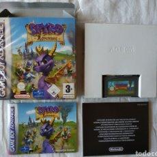 Videojuegos y Consolas: SPIRO ADVENTURE COMPLETO NINTENDO GAME BOY GAMEBOY ADVANCE. Lote 170040944