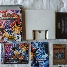 Videojuegos y Consolas: YU-GI-OH! EL DIA DEL DUELO COMPLETO SIN CARTUCHO GAMEBOY ADVANCE. Lote 170041006